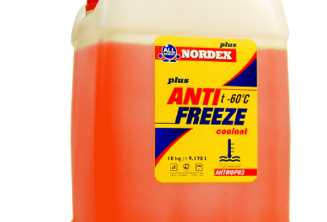 Антифриз Nordex красный G-11 10кг