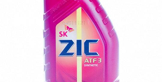 Масло автоматической коробки передач ZIC ATF III synthetic 1л