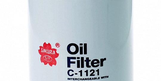 C1121 SAKURA Масляный фильтр