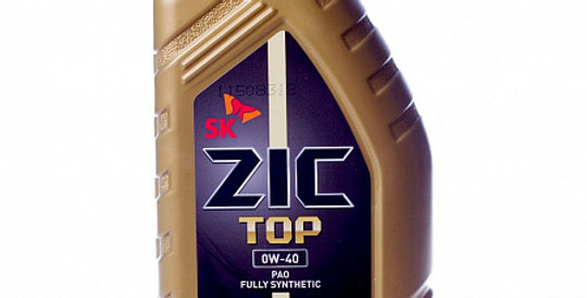 Моторное масло ZIC TOP 0w40 1л