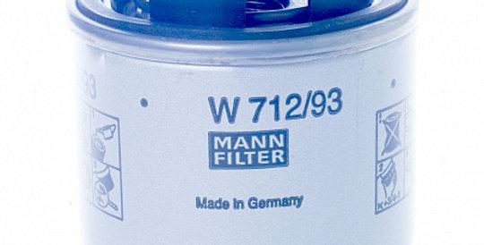 W712/93 MANN-FILTER Масляный фильтр
