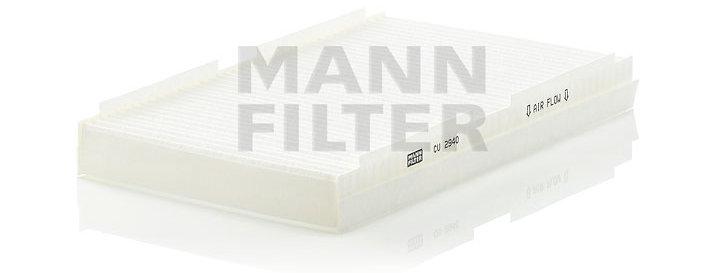 Фильтр салонный MANN FILTER CU2940