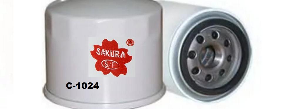 C1024 SAKURA Масляный фильтр