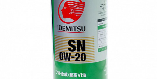 Моторное масло IDEMITSU Zepro Eco Medalist 0w20 1л