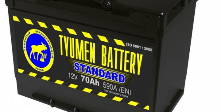"70 о.п. Tyumen Battery ""STANDARD"" 590А (278*175*190)"