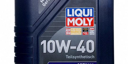 Моторное масло LIQUI MOLY Optimal 10w40 1л