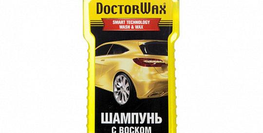 Автошампунь концентрат с воском DOCTOR WAX 8126 300мл