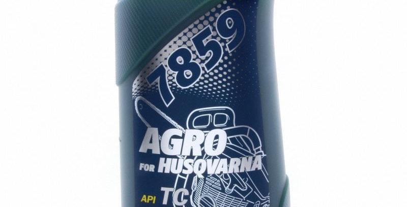 Масло моторное MANNOL 2Т AGRO for Husqvarna  1л.