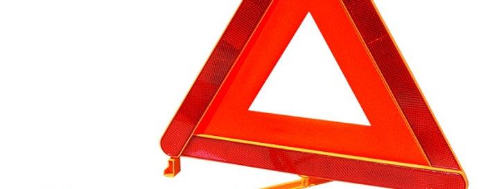 Аварийный знак ГОСТ с аракалом, метал