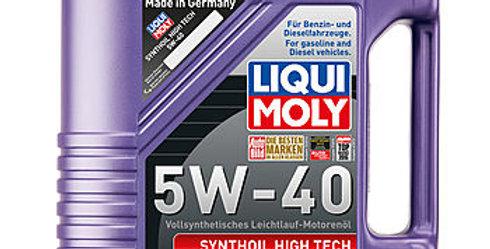 Масло моторное Liqui Moly synthoil high tech 5w40 5л.