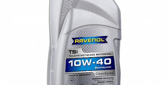 Моторное масло RAVENOL TSI 10w40 1л