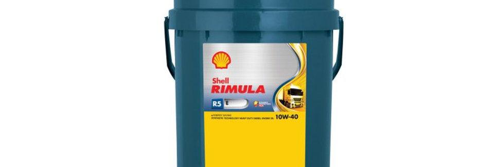 Моторное масло SHELL Rimula R-5 E 10w40 20л