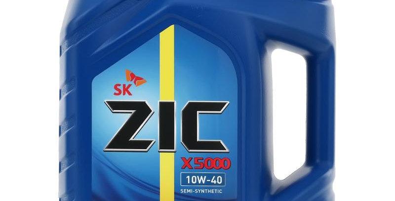Масло моторное ZIC X5000 10W40 API CI-4 SD п/син 6л.