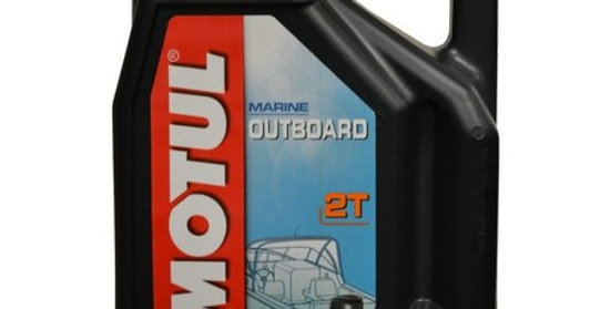 Масло моторное Motul Outboard  2T 5л.