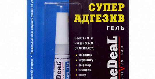Клей суперадгезив гель DONE DEAL 6612 2г