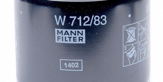 W712/83 MANN-FILTER Масляный фильтр