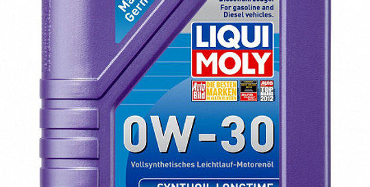 Моторное масло LIQUI MOLY Synthoil Longtime 0w30 1л