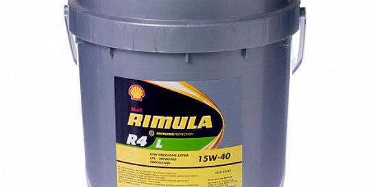 Моторное масло SHELL Rimula R-4 L 15w40 20л