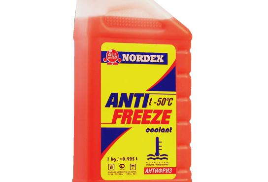 Антифриз Nordex красный G-11 1кг