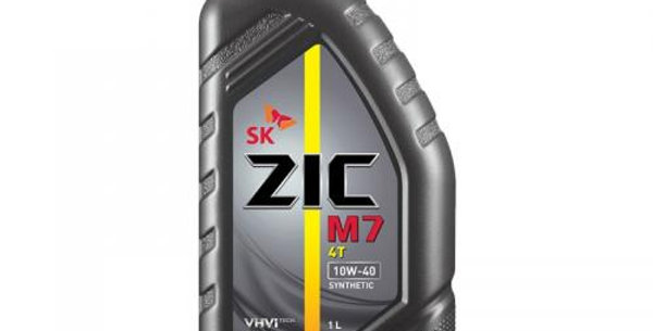 Масло моторное ZIC M7 4T  10w40  1л.