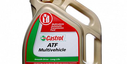 Масло автоматической коробки передач CASTROL ATF Multivehicle 5л