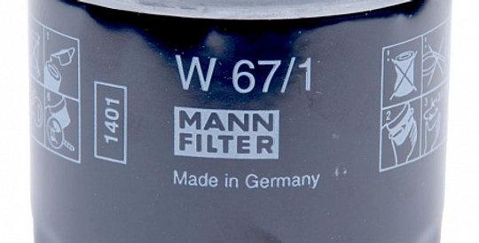 W67/1 MANN-FILTER Масляный фильтр