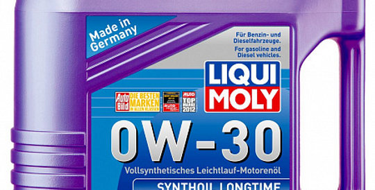 Моторное масло LIQUI MOLY Synthoil Longtime 0w30 4л