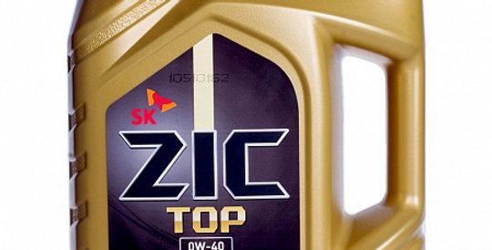 Моторное масло ZIC TOP 0w40 4л