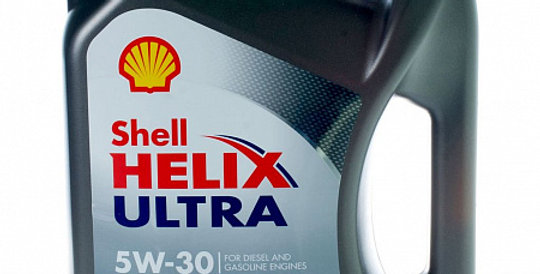 Моторное масло SHELL Helix Ultra ECT 5w30 4л