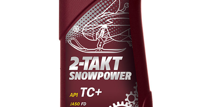 Масло моторное Mannol 2-TAKT snowpower TC+ 1л.