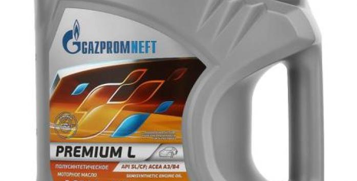 Масло моторное Газпромнефть premium L 10w40 4л