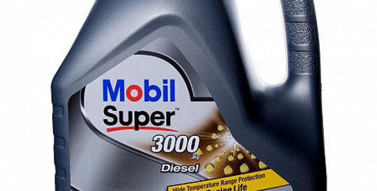Моторное масло MOBIL Super 3000 X1 Diesel 5w40 4л