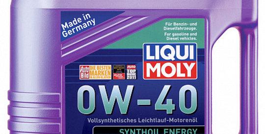 Моторное масло LIQUI MOLY Synthoil Energy 0w40 4л
