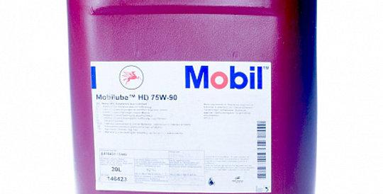 Масло осевого редуктора MOBIL Mobilube HD GL-5 75w90 20л