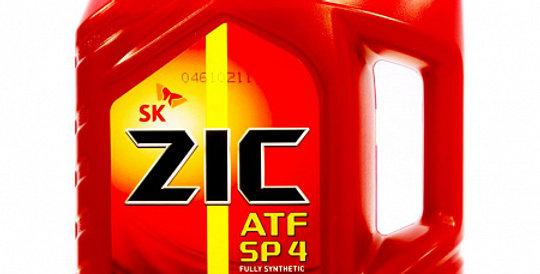 Масло автоматической коробки передач ZIC ATF SP-4 4л