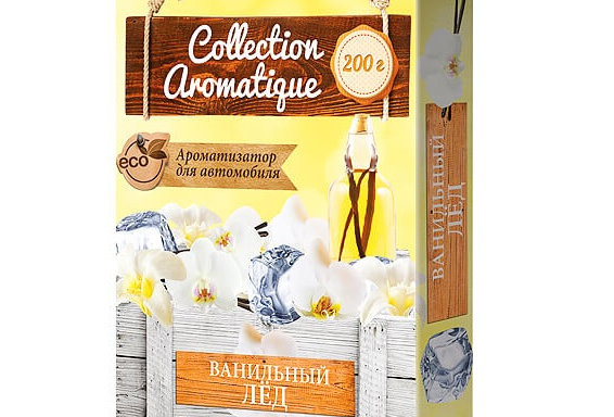 """Ароматизатор Collection Aromatique под сиденье """"Ванильный лед"""""""
