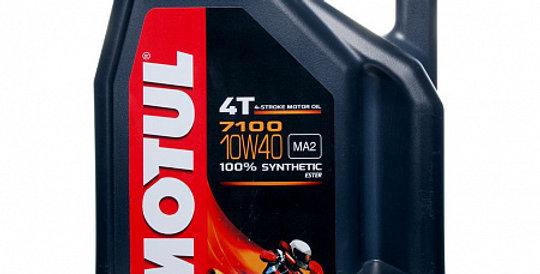 Моторное масло MOTUL 7100 4T 10w40 4л