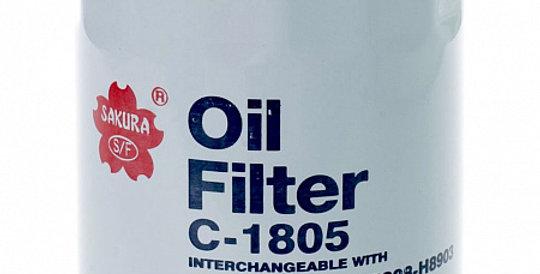 C1805 SAKURA Масляный фильтр