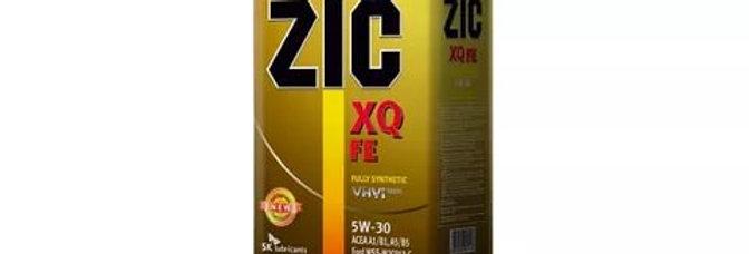 Масло моторное ZIC XQ FE 5w30 4л. ж\б