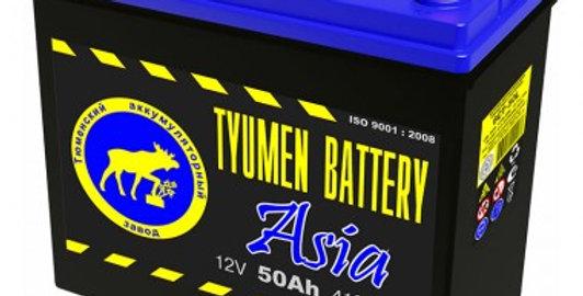 50 о.п. Tyumen Battery ASIA АПЗ 6СТ 410А