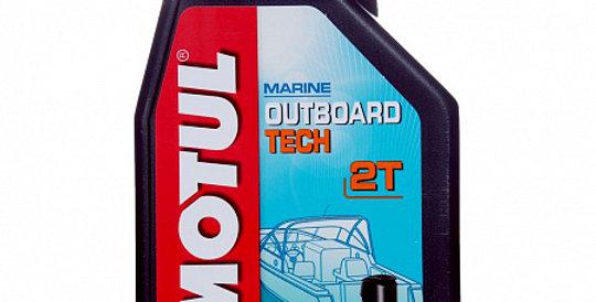 Масло моторное Motul Outboard TECH 2T 1л.