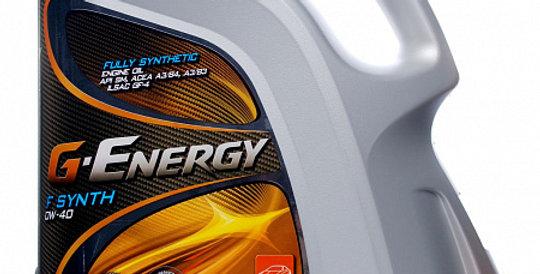 Моторное масло G-ENERGY F Synth 0w40 4л
