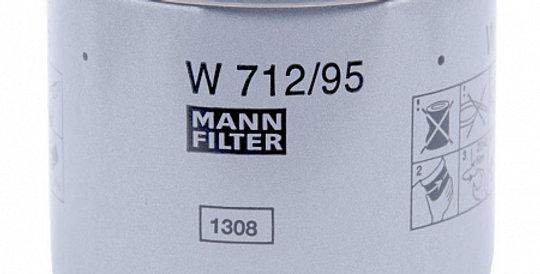 W712/95 MANN-FILTER Масляный фильтр