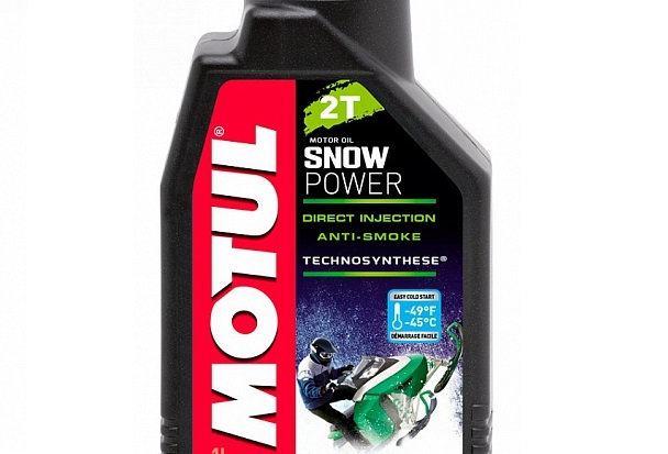 Масло моторное Motul Snow power 2T 1л.