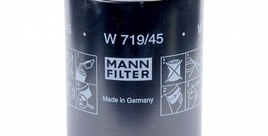 W719/45 MANN-FILTER Масляный фильтр