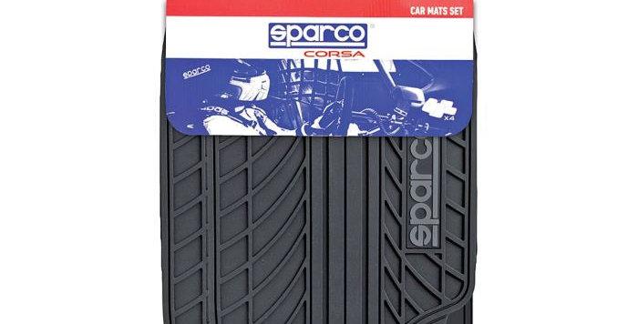 Коврики автомобильные SPARCO серия Classic эластичный ПВХ 4 предмета