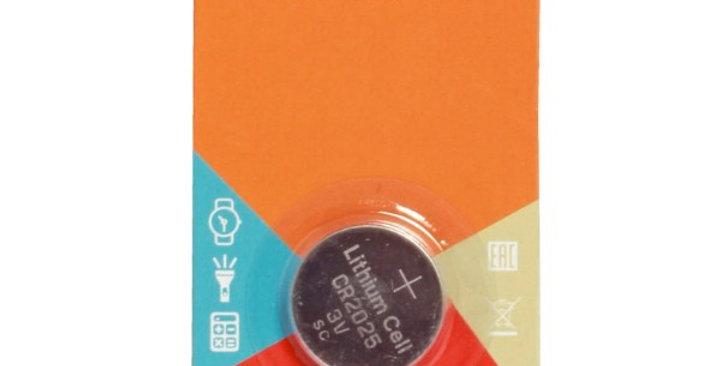 Элемент питания CR2025 3V для брелоков сигнализаций литиевая