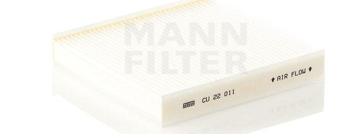 Фильтр салонный MANN FILTER CU22011