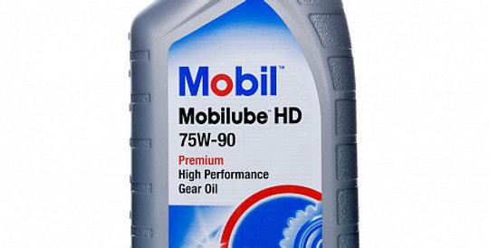 Масло осевого редуктора MOBIL Mobilube HD GL-5 75w90 1л