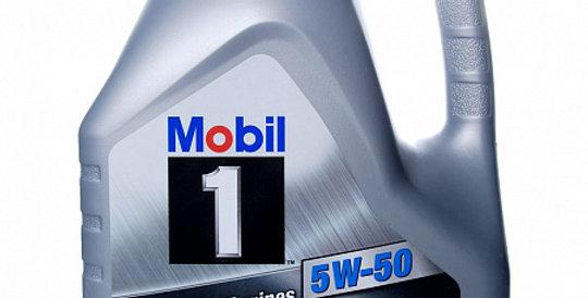 Моторное масло MOBIL 1 5w50 4л